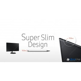 """Монитор 24"""" Samsung S24F350F black  LED PLS,4 mc,D-Sub, HDMI"""