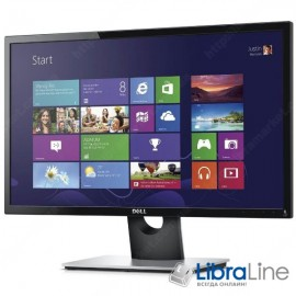 "Монитор 24"" DELL SE2416H black  LED IPS, D-Sub,  HDMI"