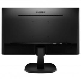 Монитор 23.8 Philips 243V7QDSB black LED IPS, DVI, VGA, HDMI