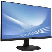 Монитор 23.8 Philips 243V7QDSB black LED IPS, DVI, VGA, HDMI