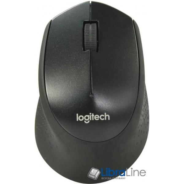Компьютерная мышь Logitech M330 Silent Plus black USB, wireless,  L910-004909