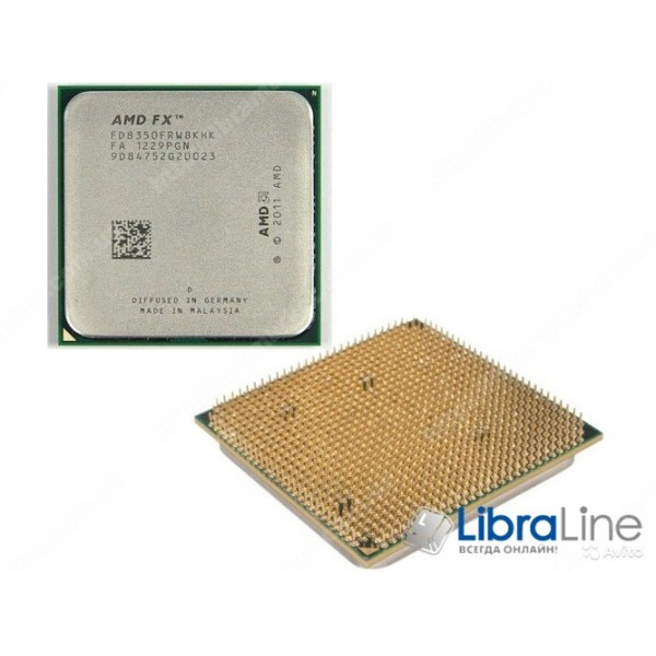 Процессор AMD AM3+ FX-8350 4GHz 8mb 8Core Box FD8350FRHKBOX
