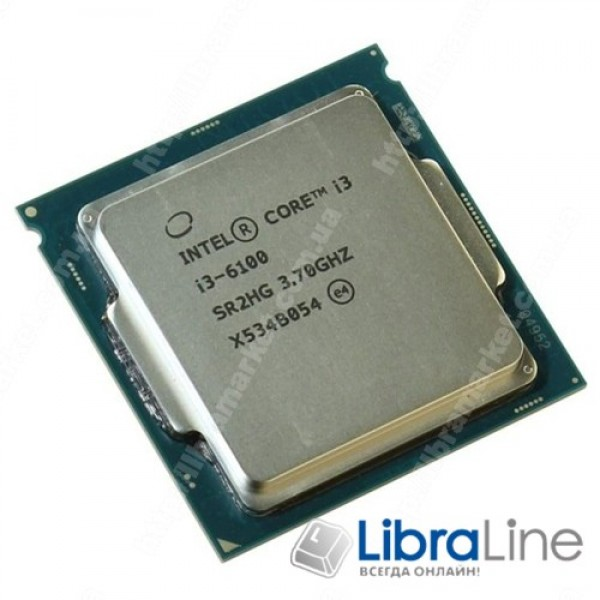 Процессор Intel 1151 Core i3-6100  3.7GHz / 3mb / 2 Core / Box / Intel HD 530 BX80662I36100