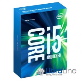 Процессор Intel 1151 Core i5-6600K 3.5GHz / 6mb / 4 core/ Box BX80662I56600K