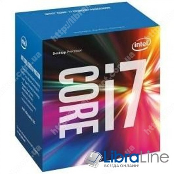 BX80677I77700 Процессор  Intel 1151 Core i7-7700 3,6GHz / 8Mb / 4 Core / Box