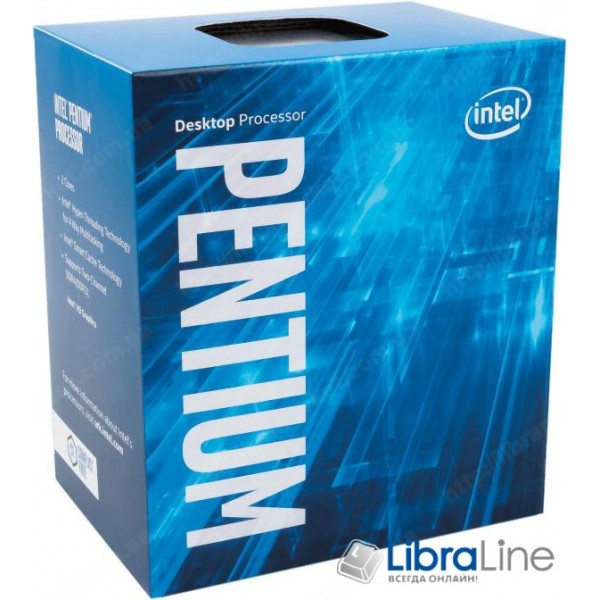 Процессор Intel 1151 Pentium G4600 3.6GHz / 3mb / 2 Core / box BX80677G4600
