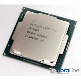 Процессор Intel 1151 Core i3-8100 3.6GHz / 6Mb / 4 Core / Box BX80684I38100
