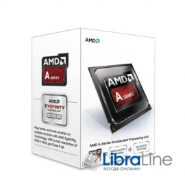 AD4000OKHLBOX Процессор AMD FM2 A4-4000 X2  3GHz / 2 Core / Box
