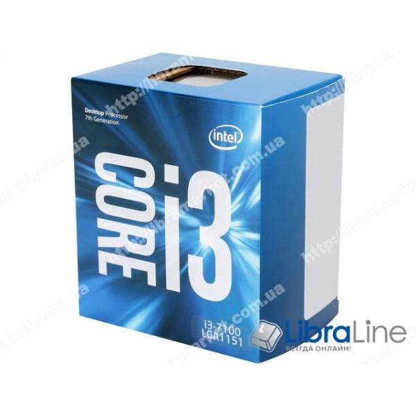 Процессор Intel 1151 Core i3-7100 3.9GHz / 3mb / 2 Core / Box BX80677I37100