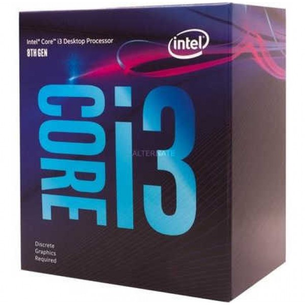 Процессор Intel Core i3 9100 3.6GHz / 6MB / Coffee Lake / 65W / S1151 / Box BX80684I39100