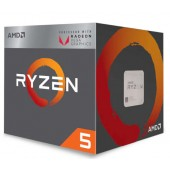Процессор Ryzen 5 4C/8T 2400G 3.9GHz / 6MB / 65W / AM4 box, with Wraith Stealth cooler and RX Vega Graphics