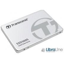 """SSD жесткий диск 2,5"""" SATA-3 128Gb Transcend TS128GSSD360S"""
