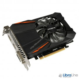 Видеокарта  PCI-E Gigabyte GeForce GTX1050TI 4Gb GDDR5 GV-N105TD5-4GD