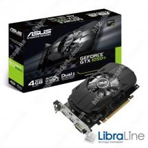 PH-GTX1050TI-4G  Видеокарта  Asus GeForce GTX1050TI 4Gb GDDR5, 128 bit, DVI, HDMI, DP PCI-E