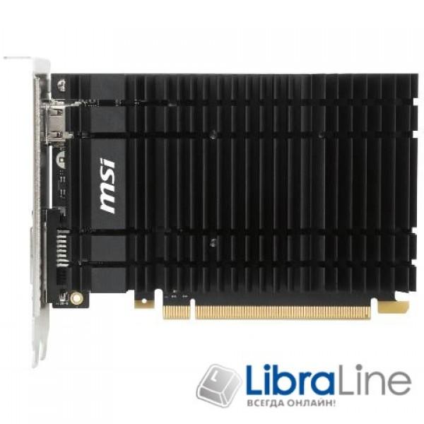 GF-GT-1030-2GH-OC Видеокарта PCI-E MSI GeForce GT1030 2Gb OC  GDDR5,DVI, HDMI