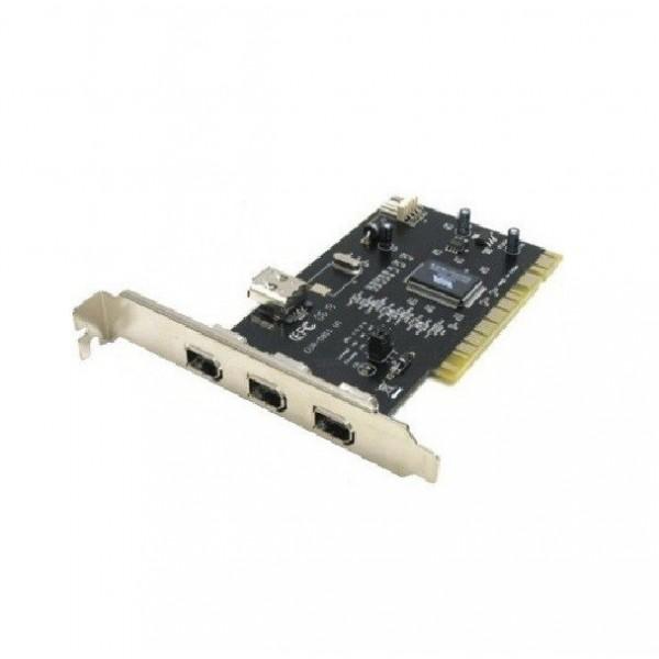Контроллер Maxxtro Firewire(1394) PCI, 3+1 port, chip NEC F-204N