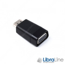 Адаптер, переходник Cablexpert A-HDMI-VGA-001