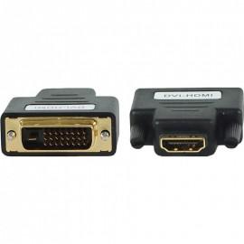 Адаптер, переходник Cablexpert A-HDMI-DVI-2, HDMI мама /DVI папа