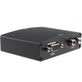 Конвертер HDMI TO VGA CONVERTER V1009