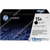 C7115A, HP 15A, Лазерный картридж HP LaserJet, Черный