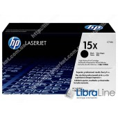 C7115X, HP 15X, Лазерный картридж HP LaserJet увеличенной емкости, Черный