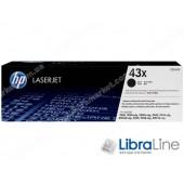 C8543X, HP 43X, Лазерный картридж HP LaserJet увеличенной емкости, Черный