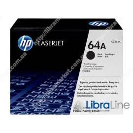 CC364A, HP 64A, Оригинальный лазерный картридж HP LaserJet, Черный