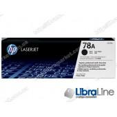 CE278A, HP 78A, Лазерный картридж HP LaserJet, Черный