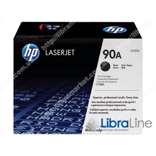 Купить CE390A, HP 90A, Лазерный картридж HP LaserJet, Черный