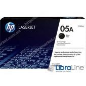 CE505A, HP 05A, Лазерный картридж HP LaserJet, Черный