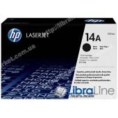 CF214A, HP 14A, Лазерный картридж HP LaserJet, Черный