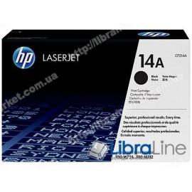 CF214A, HP 14A, Оригинальный лазерный картридж HP LaserJet, Черный