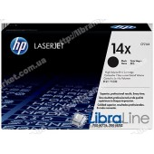 CF214X, HP 14X, Лазерный картридж HP LaserJet увеличенной емкости, Черный