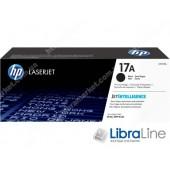 Тонер картридж HP 17A LJ Pro M130 Black  1600 стр CF217A