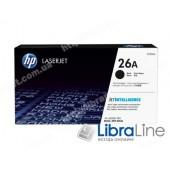 CF226A, HP 26A, Лазерный картридж HP LaserJet, Черный