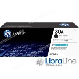 CF230A, HP 30A, Оригинальный лазерный картридж HP LaserJet, Черный