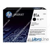 CF281A, HP 81A, Лазерный картридж HP LaserJet, Черный