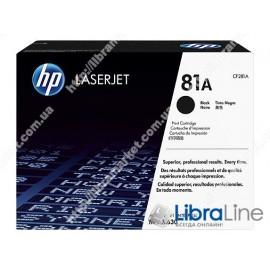 Купить CF281A, HP 81A, Лазерный картридж HP LaserJet, Черный
