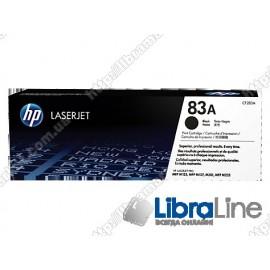 Лазерный картридж HP LaserJet, Черный CF283A, HP 83A