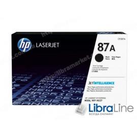 Купить CF287A, HP 87A, Лазерный картридж HP LaserJet, Черный