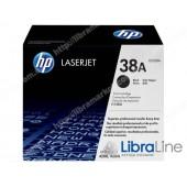 Q1338A, HP 38A, Лазерный картридж HP LaserJet, Черный