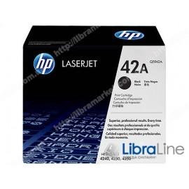 Q5942A, HP 42A, Оригинальный лазерный картридж HP LaserJet, Черный