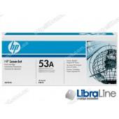 Q7553A, HP 53A, Лазерный картридж HP LaserJet, Черный
