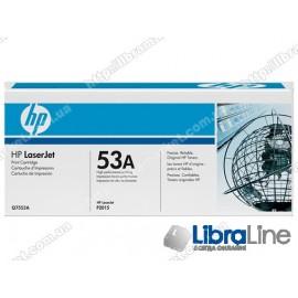 Q7553A, HP 53A, Оригинальный лазерный картридж HP LaserJet, Черный