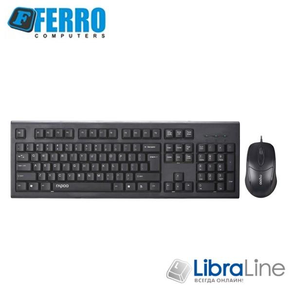 "Персональный компьютер Ferro Pro i5-8400 / 16Gb / H370 / 240Gb SSD+1Tb / GTX1050Ti / 600W / K+M / 24"" Samsung"