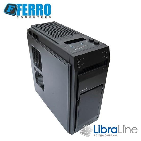 """Персональный компьютер Ferro Xtreem i7-8700K / Z390 / 32Gb / 480Gb SSD+2Tb / RTX2070 8Gb / 1000W / K+M / 27"""" DELL"""