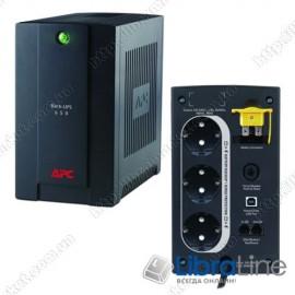 BX650CI-RS Источник бесперебойного питания APC Back-UPS  390Вт, USB