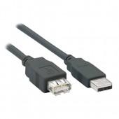 Кабель удлинитель Cablexpert CCP-USB2-AMAF-15 USB 2.0 4,5м с ферритовым фильтром