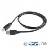 Кабель Maxxter UF-AMBM-1M, USB2.0, 1м