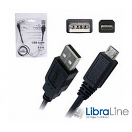 Кабель microUSB Cablexpert CCP-mUSB2-AMBM-0.3M, USB 2.0, 0.3 м